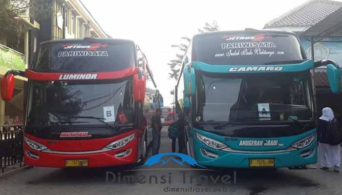 Daftar Harga Sewa Bus Pariwisata di Surabaya Murah Fasilitas Terbaru Terbaik