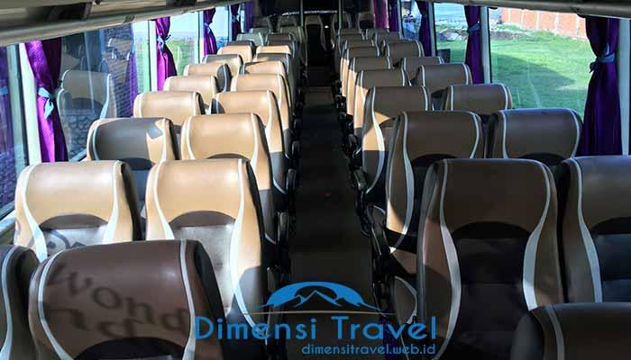 Daftar Harga Sewa Bus Pariwisata di Kediri Murah Terbaik
