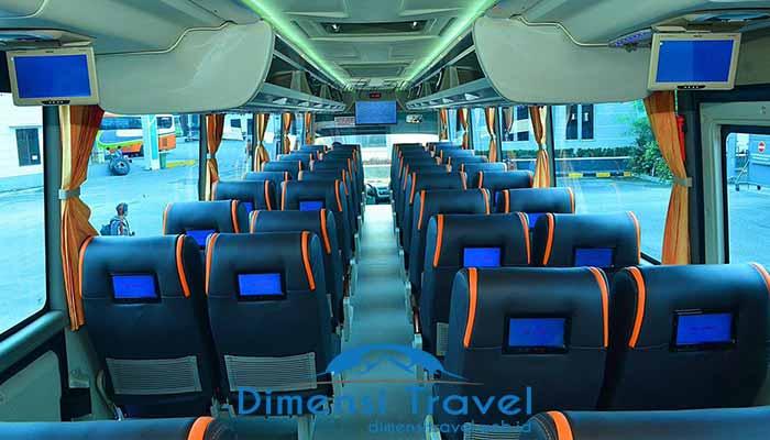 Daftar Harga Sewa Bus Pariwisata di Jakarta Terbaru Murah Interior