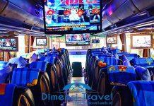 Daftar Harga Sewa Bus Pariwisata di Depok Terbaru Murah Interior
