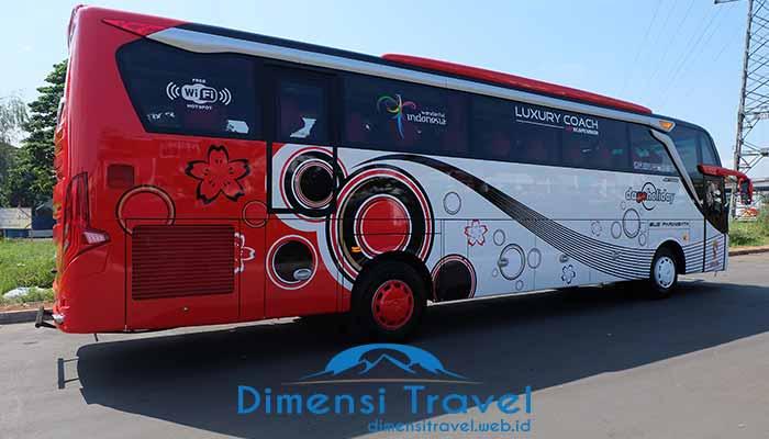 Harga Sewa Bus Pariwisata Di Pangandaran Terbaru 2020 Dimensi Travel